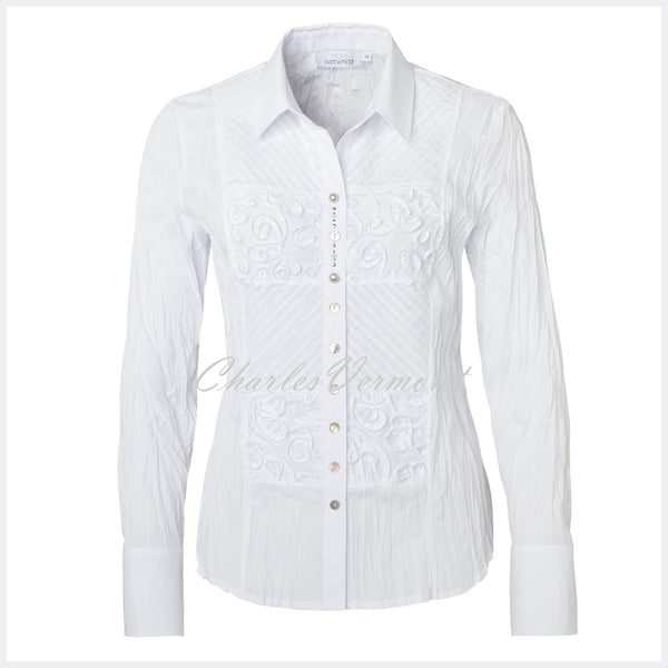 Just White Blouse – Style 41899