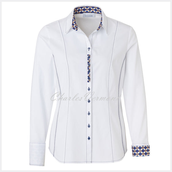 Just White Blouse – Style 42002