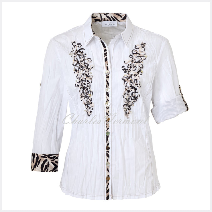 Just White Blouse – Style 42610