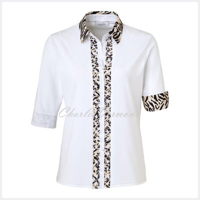 Just White Blouse – Style 42631