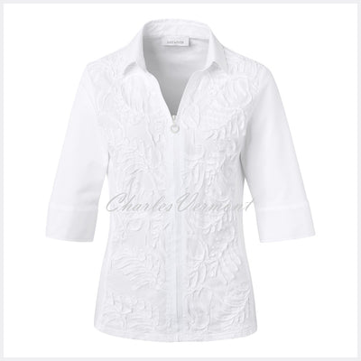 Just White Blouse – Style 42646