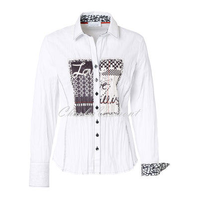 Just White Blouse – Style 43056