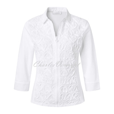 Just White Blouse – Style 43375