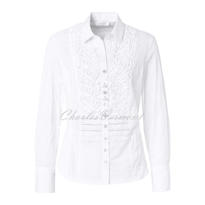 Just White Blouse – Style 43380