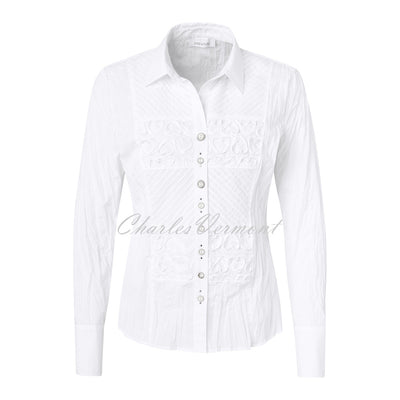 Just White Blouse – Style 43383
