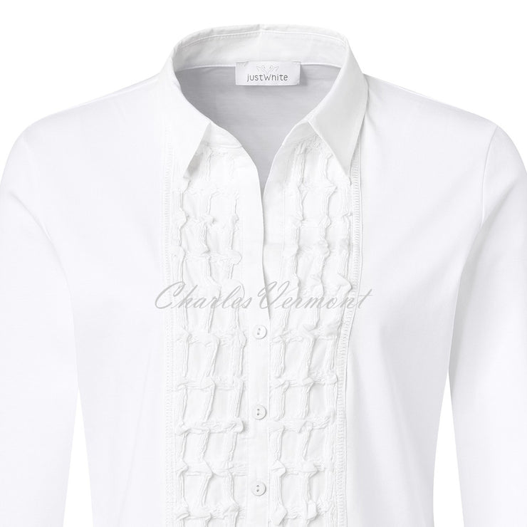 Just White Top – Style 43409