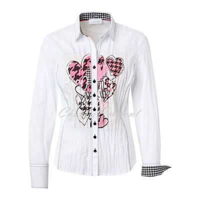 Just White Blouse – Style 43421