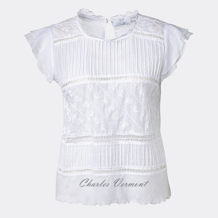 Just White Blouse - style 46965