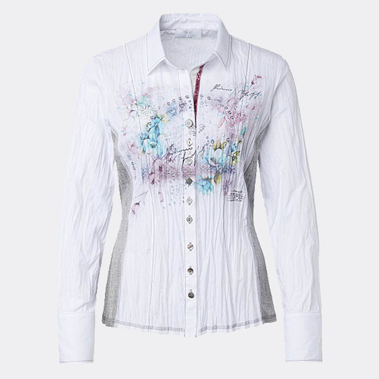 Just White Blouse - style 48392