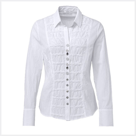 Just White Blouse - style 48729