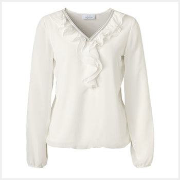 Just White Blouse - style 48740