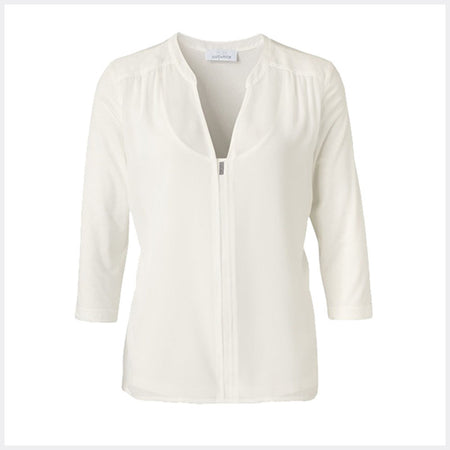 Just White Blouse - Style 49002