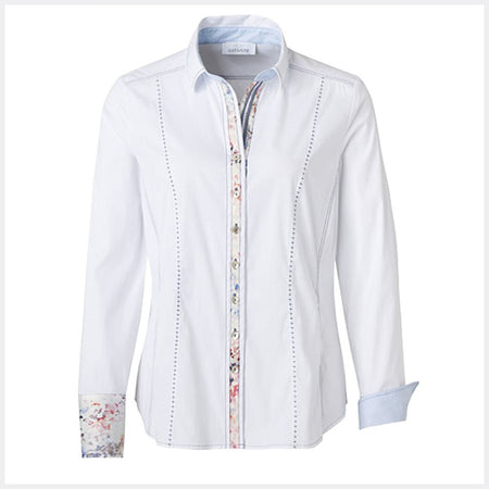 Just White Blouse - style 49031