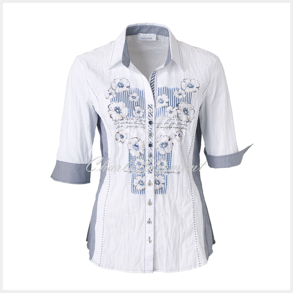 Just White Blouse – style 49232
