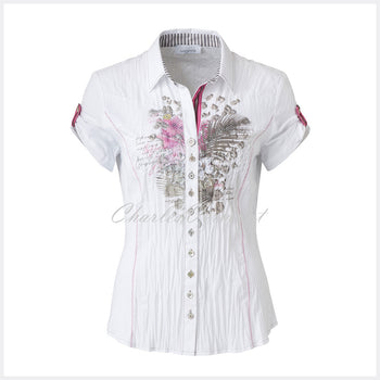 Just White Blouse – style 49330