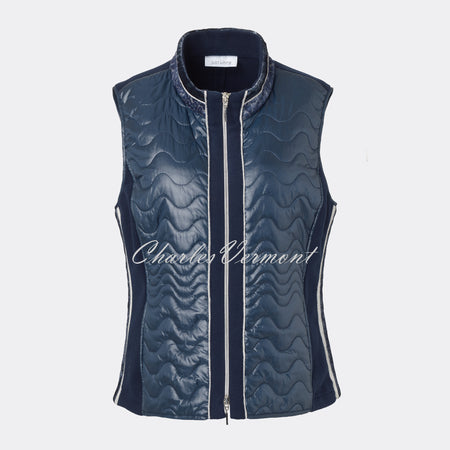 Just White Gilet - style 49565
