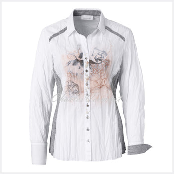 Just White Blouse – Style 49605