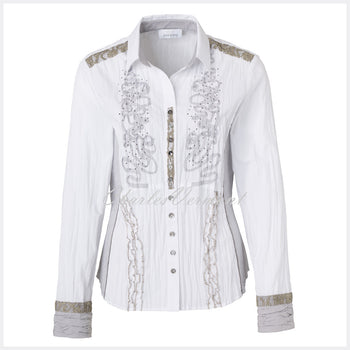 Just White Blouse – Style 49652
