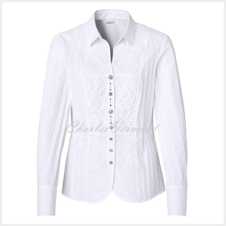 Just White Blouse – Style 49675