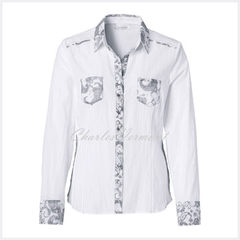 Just White Blouse – Style 49704