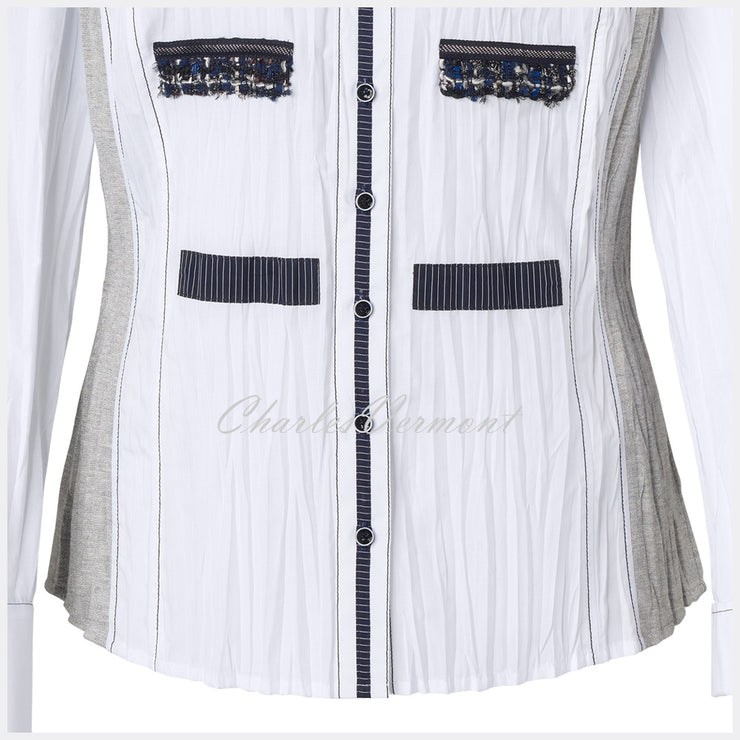 Just White Blouse – Style 49713