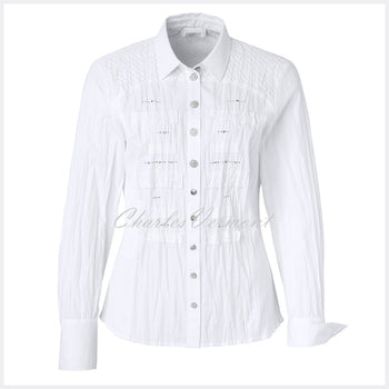 Just White Blouse – Style 49811