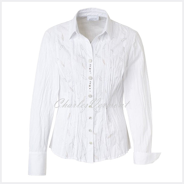 Just White Blouse – Style 49922