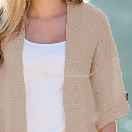 Marble Cardigan – Style 5227-150 (Beige)
