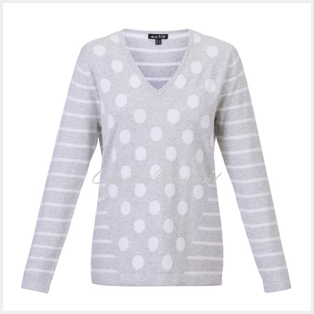 Marble Sweater – Style 5275-106 (Grey / White)