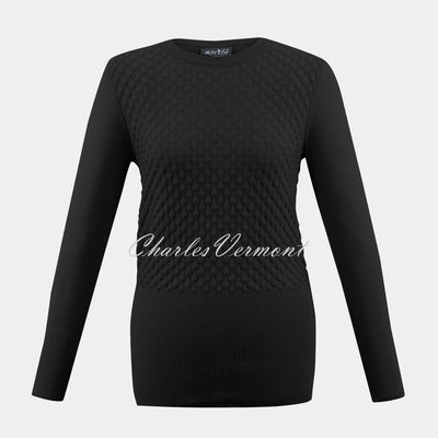 Marble Sweater – Style 5399-101 (Black)