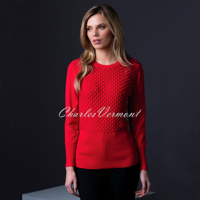 Marble Sweater – Style 5399-109 (Red)