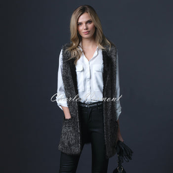 Marble Long-line Gilet – Style 5426-104