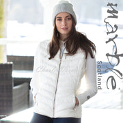 Marble Gilet – Style 5469-104 (Off-White)