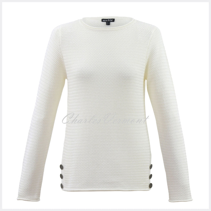 Marble Sweater – style 5493-104 (Cream)