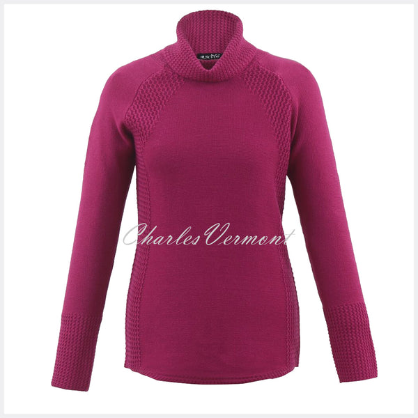 Marble Sweater – Style 5512-181 (Cerise)