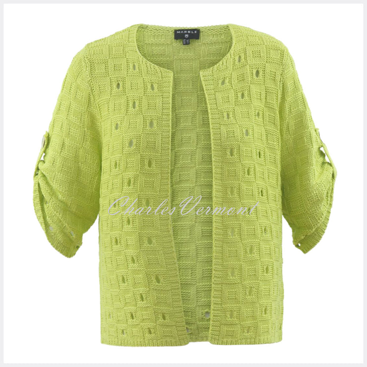 Marble Cardigan – Style 5619-163 (Lemon-Lime)