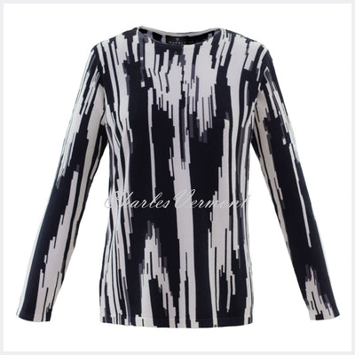 Marble Sweater – Style 5794-105 (Black / White / Grey)