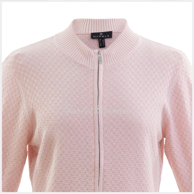 Marble Cardigan – Style 5805-120 (Pale Pink)