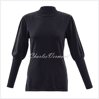 Marble Sweater - Style 5813-101 (Black)