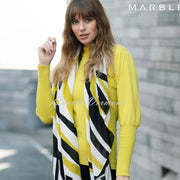 Marble Sweater - Style 5813-189 (Chartreuse)