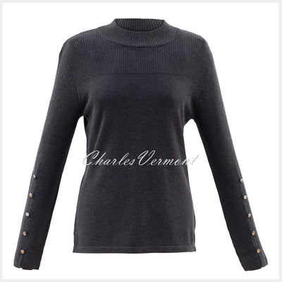 Marble Sweater – Style 5818-105 (Charcoal Grey)