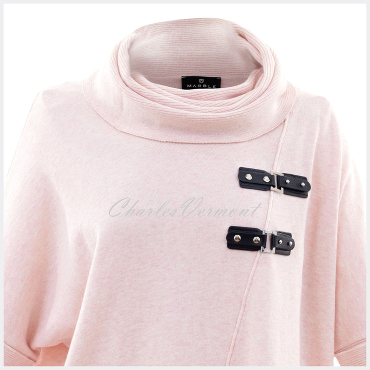Marble Sweater – Style 5868-120 (Pale Pink)