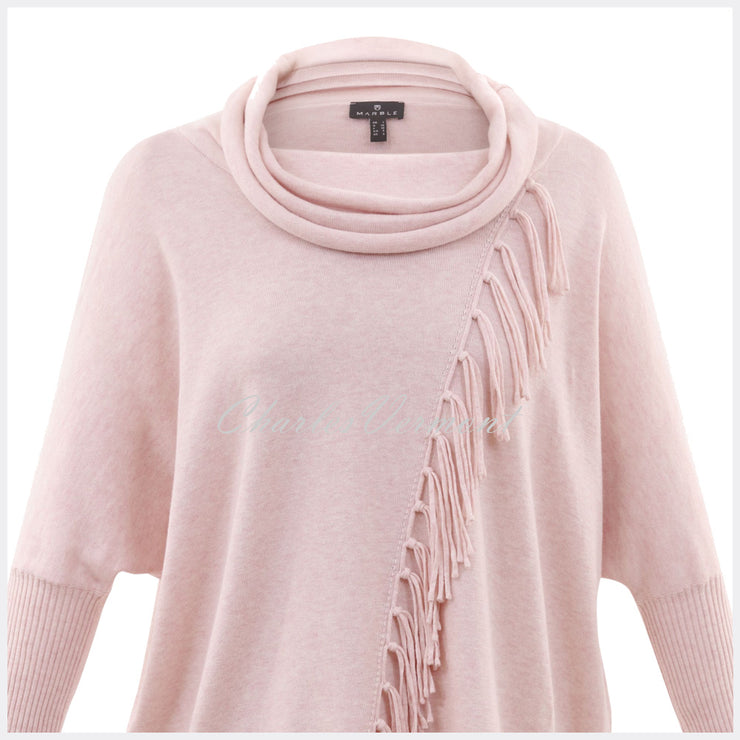 Marble Sweater – Style 5874-120 (Pale Pink)