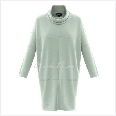 Marble Sweater Dress – Style 5903-188 (Ice Green)