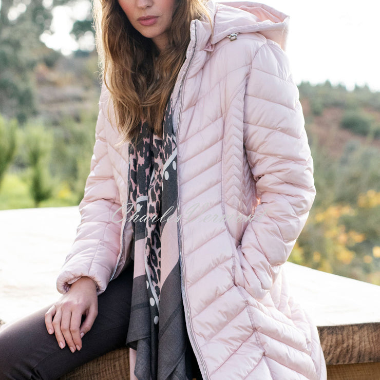 Marble Coat – Style 5948-120 (Pale Pink)