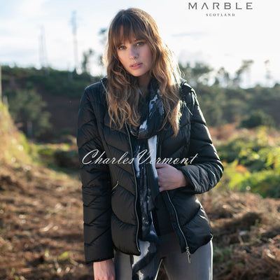 Marble Jacket (with Detachable Sleeves and Hood) – Style 5949-101 (Black)