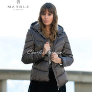 Marble Jacket (with Detachable Sleeves and Hood) – Style 5949-159 (Mocha)