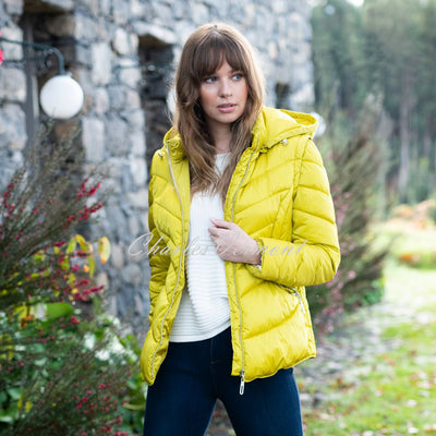 Marble Jacket (with Detachable Sleeves and Hood) – Style 5949-189 (Chartreuse)