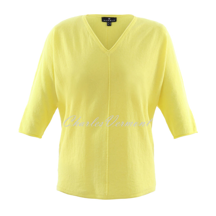 Marble Sweater – Style 6004-152 (Yellow)