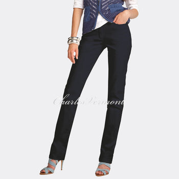 Michele 'Magic' 8357 Skinny Jeans - Regular (Blue/Black)